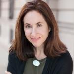 Barbara Spandorf Headshot, Woman Centered; black sweater, olive green shirt