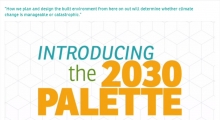 The 2030 Palette: Applications, Methods, Guidelines and Resources for the New Built Environment
